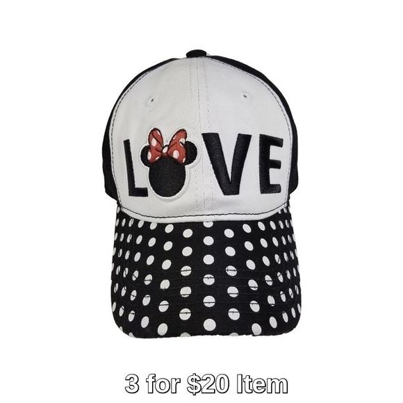 0ccafb71e13 Disney Minnie Mouse Love Baseball Hat